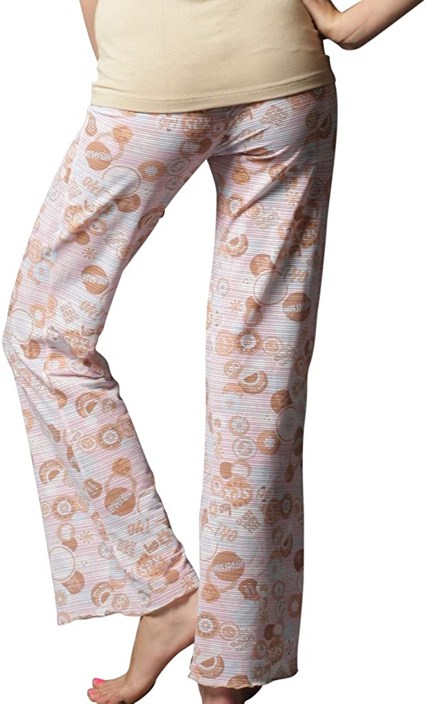 Underglam Beige Button Sleep Pant