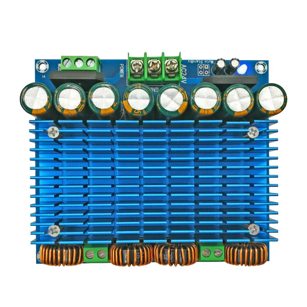 gazechimp Assembeld Class D TDA8954 Stereo HiFi Digital Power Amplifier Board 420W by Gazechimp