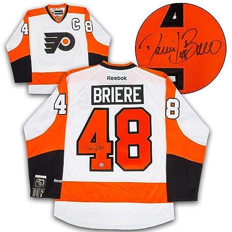 Image Unavailable. Image not available for. Color  Daniel Briere  Autographed Jersey - Philadelphia Flyers ... 5d83870bf