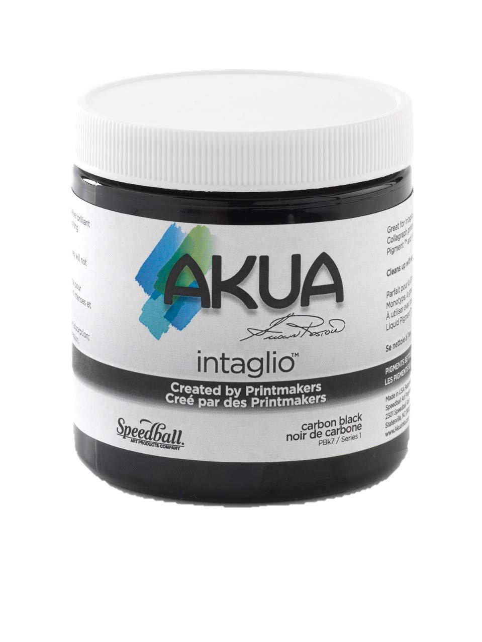 Akua Intaglio Ink, 8 oz, Carbon Black