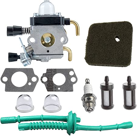 Amazon.com: HIPA C1Q-S97 kit de carburador con línea ...