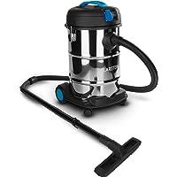 Klarstein REINRAUM Aspiratore Industriale BAGNATO-ASCIUTTO aspirapolvere aspira liquidi (1800 Watt, 30 Litri, presa integrata da 1600 Watt)