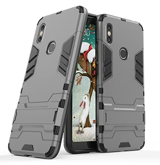 Xiaomi Redmi S2 Case, FoneExpert ShockProof Rugged Impact Armor Slim Hybrid  Kickstand Protective Cover Case For Xiaomi Redmi S2