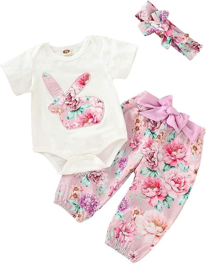 UK Easter Gifts Infant Baby Girl Rabbit Printing Dress Tutu Party Dresses