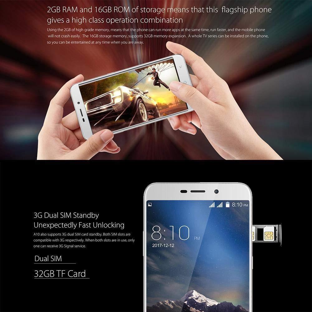 Smartphone sin contrato de Blackview; modelo A10 Metal Unibody, 5 ...