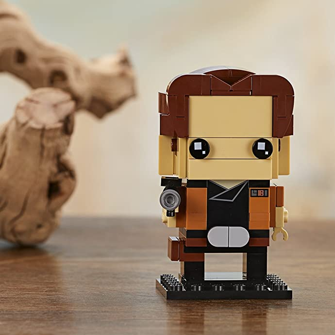 LEGO 乐高 BrickHeadz系列 41608 汉.索罗 积木玩具 4.5折$4.49 海淘转运到手约¥40
