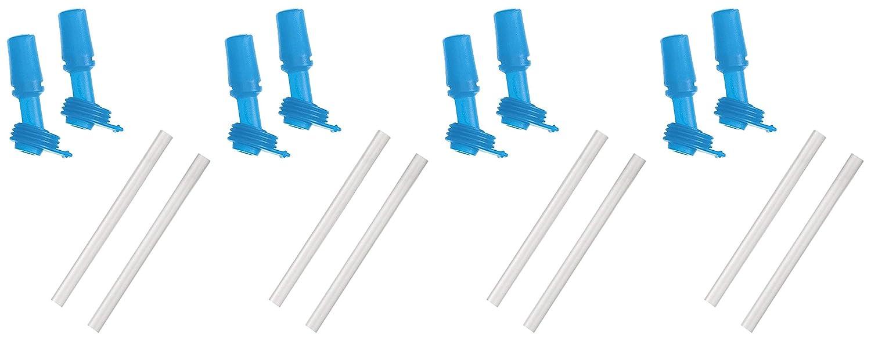 Blue CamelBak Kids Bottle Accessory 2 Bite Valves//2 Straws
