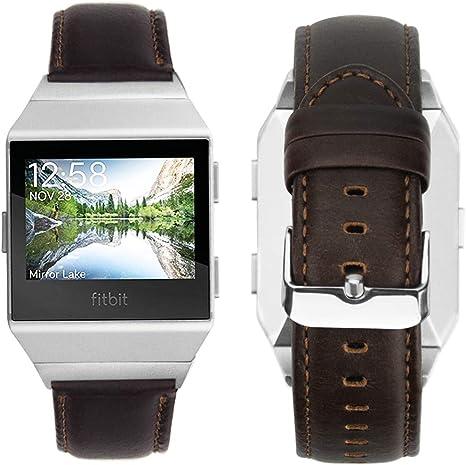 fitbit ionic bracelet cuir