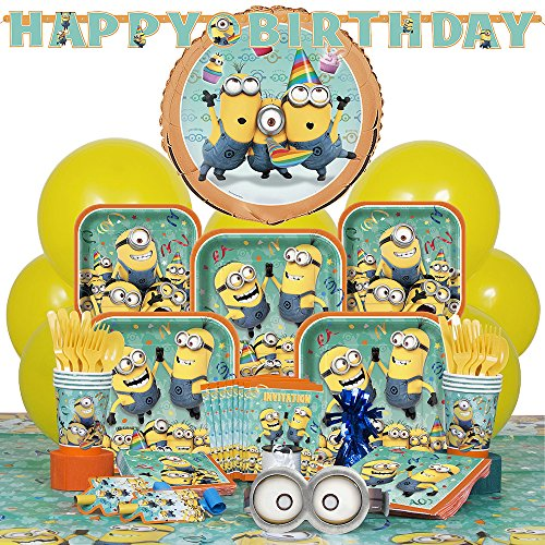 Deluxe Despicable Minions Party Supplies