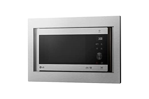 LG MH6565CPSK - Microondas grill con tecnología Smart Inverter, kit de encastre, potencia microondas y grill de 1450 W, 25 l de capacidad, dislplay ...