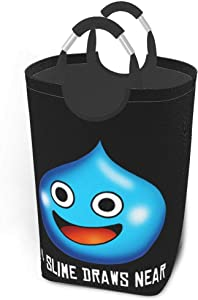 Nsafinhwv Dragon Quest Slime Game Foldable Laundry Laundry Hampers for Laundry Foldable Clothes Hamper for Toys and Clothes Organization