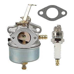 Anzac Carburetor for Tecumseh 632230 631867 Tecumseh H50 H60 Carburetor Shredder Chipper Troy Bilt 47279 Carburetor