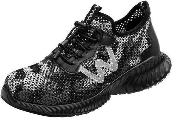 Goretex - Zapatos de Seguridad para Alpargatas Bajas, Parches de Verano, Zapatillas de Running antiaplastamiento, Zapatillas de Trekking Size: 41 EU: Amazon.es: Zapatos y complementos