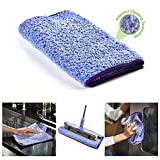 Nano-Knockout ULTRA MICROFIBER CLOTH – JUST ADD WATER No Detergents Needed - Multipurpose Towel - Stick-Attachable for Floor Mop, or Handheld Towel to clean any Surfaces and Car Interior