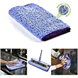 Nano-Knockout ULTRA Microfiber Towel – JUST ADD WATER No Detergents Needed - Multipurpose Microfiber Cloth - Stick-Attachable for Microfiber Mop, or Handheld Microfiber Towels to clean any Surfaces