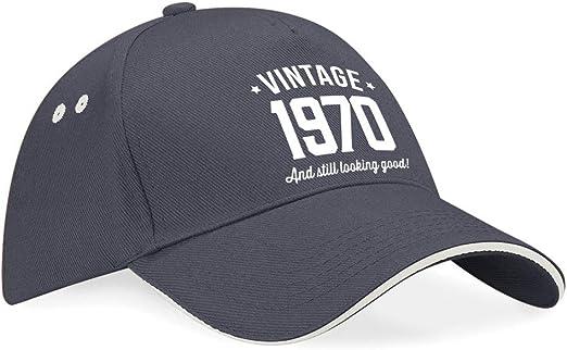 Gorra de béisbol de 50 cumpleaños - Para hombre y mujer - Como regalo divertido o recuerdo - Talla única apta para todos: Amazon.es: Juguetes y juegos