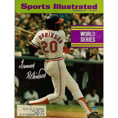 Sports Illustrated Magazine October 18, 1971 (Frank Robinson Baltimore Orioles)