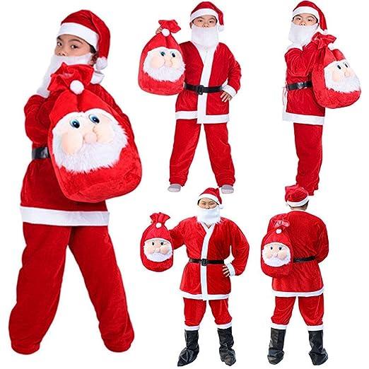 LD Navidad decoración mujer hombre Traje de Papá Noel ...