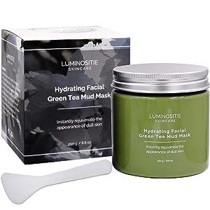 Hydrating Facial Green Tea Mud Mask (250g)