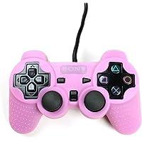 Playstation 2 Silikon Schutzhülle Controller Hülle für PS2 Rosa