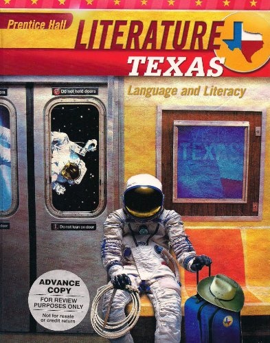 Prentice Hall Literature Texas Language and Literacy - Grade Eight