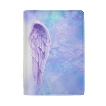 Colorful Watercolor Flowers And Birds Blocking Print Passport Holder Cover Case Travel Luggage Passport Wallet Card Holder Made With Leather For Men Women Kids Family