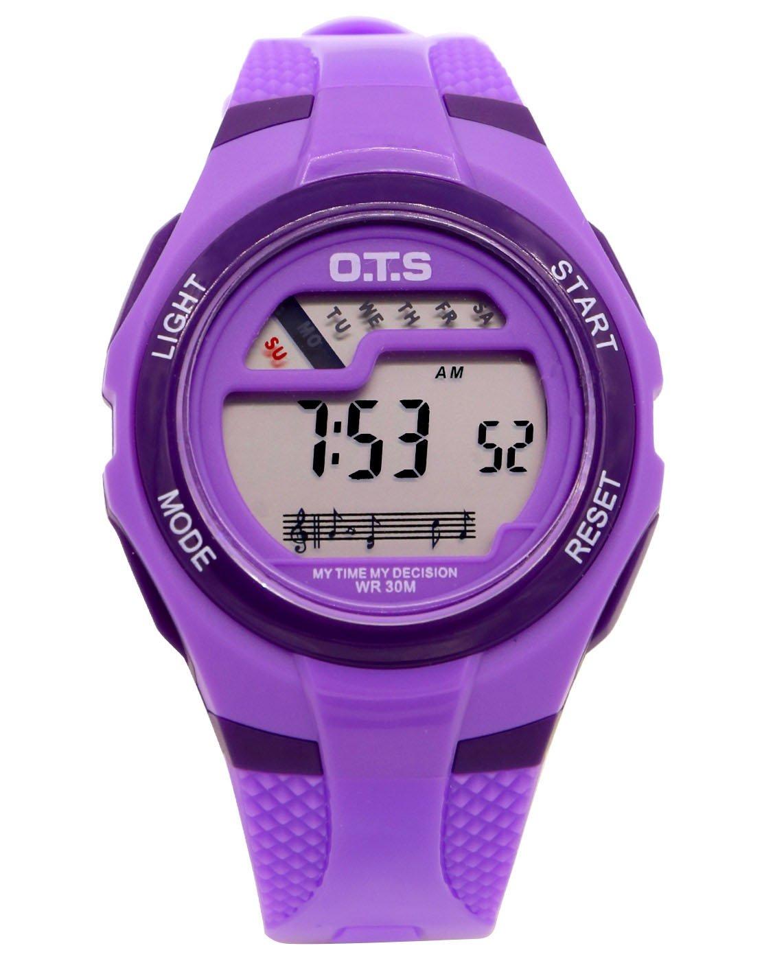 O.T.S Fashion Waterproof Children Boys Girls Digital Sport Watch with Alarm, Chronograph, Date by OTS