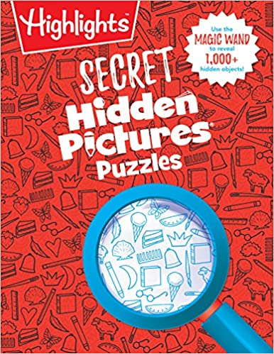Secret Hidden Pictures Puzzles Highlightstm Secret Puzzle Books