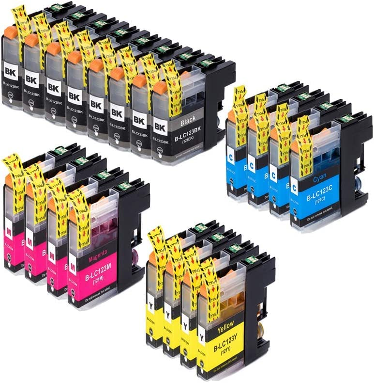 Printer Cartridges For Brother Lc123 Replaces Brother Elektronik