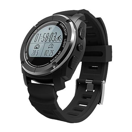 ZH Reloj inteligente GPS incorporado Presi¨®n de aire / temperatura / altitud /