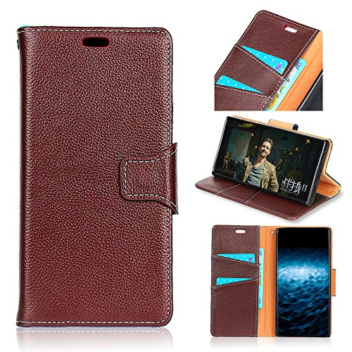 TOTOOSE OnePlus 5 - Protective Man Backcase Leather Case/Cover/Bumper/Skin/Cushion - Fashion Art Collection (Brown) -