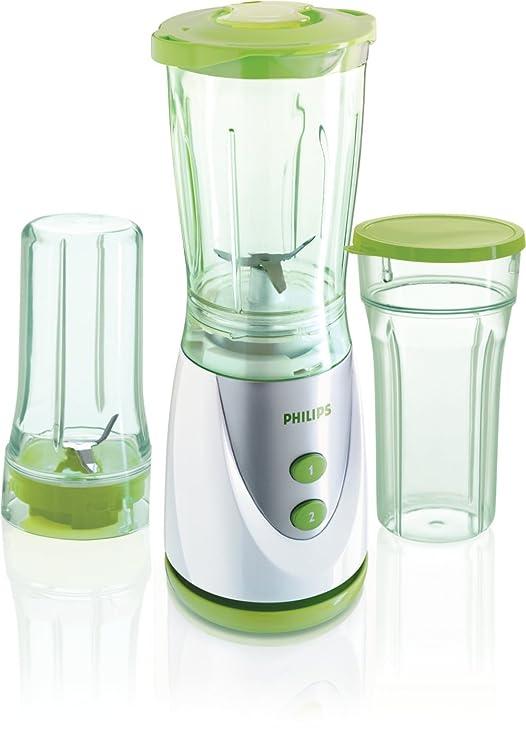Philips HR2870/60 Batidora de vaso 0.75L 250W Verde, Color blanco ...