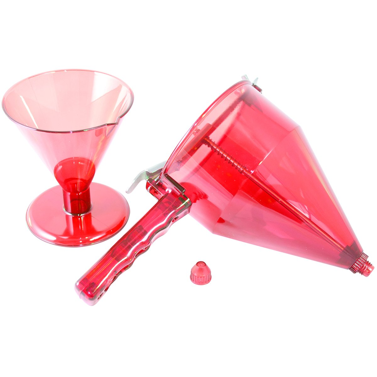 Fat Daddio's Confectionary Funnel with 3 Nozzle Sizes and Stand Fat Daddio's CF-01