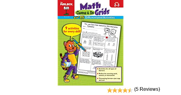 Choose & Do Math Grids (Grs. 2-3): The Mailbox Books Staff ...