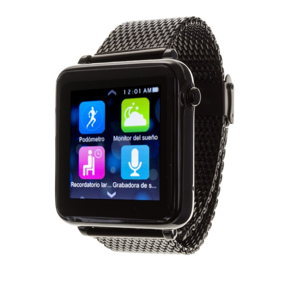 DAM DMQ243 - Sw l1+ Smartwatch, Color Negro: Amazon.es ...