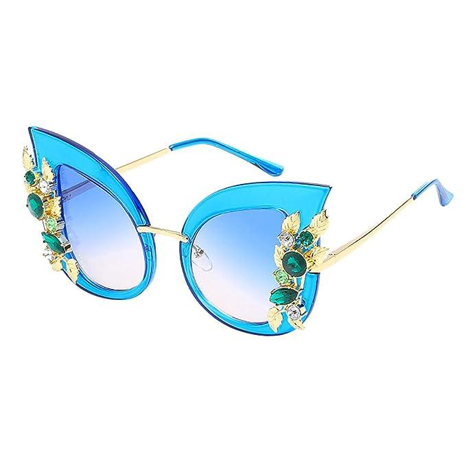 Novias Boutique - Gafas de sol - para mujer Azul azul Talla ...