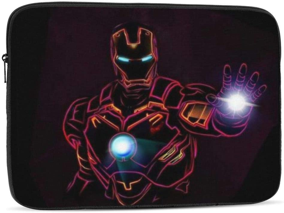 Laptop Sleeve Case- Multi Size Cool Iron Man Notebook Computer Protective Bag Tablet Briefcase Carrying Bag,17 Inch