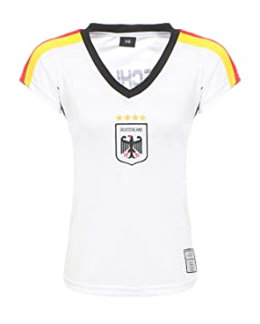 Antonio by Cleo Style Mujer Alemania Camiseta de fútbol Fan Hirt WM 2018 Fútbol camiseta de