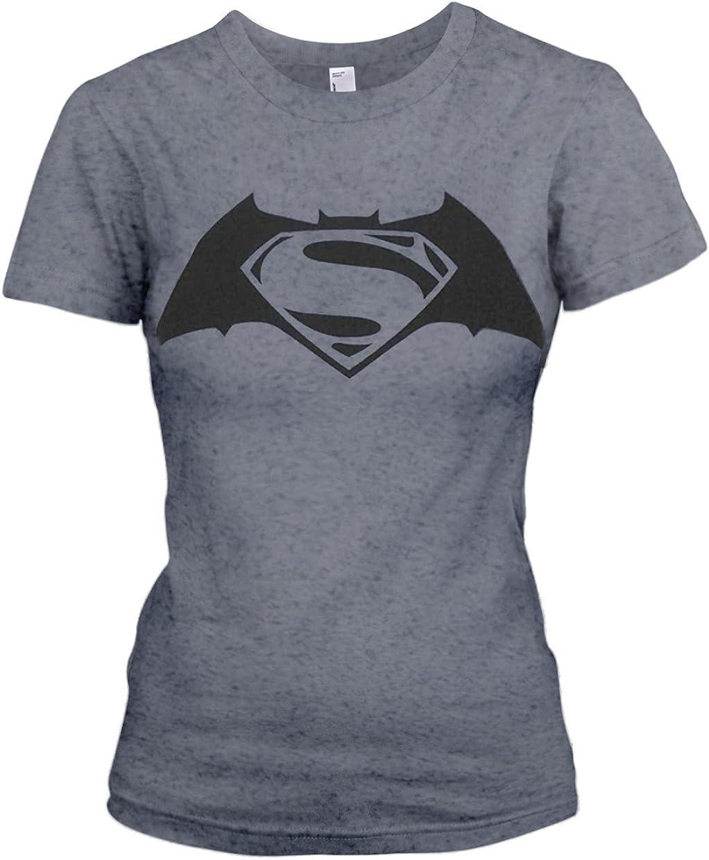 Plastic Head Batman V Superman Superbatman GTS - camiseta Mujer, Gris (Grau - Grau), 42: Amazon.es: Ropa y accesorios