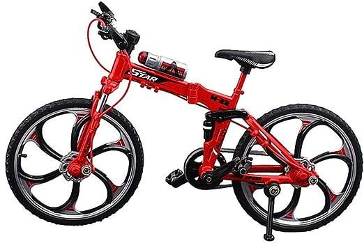 FOONEE Mini Bicicleta de Juguete de aleación, Adornos Bicicleta ...