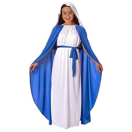 Traje de Nacimiento para Niños, Niñas, Virgen María, Niños ...