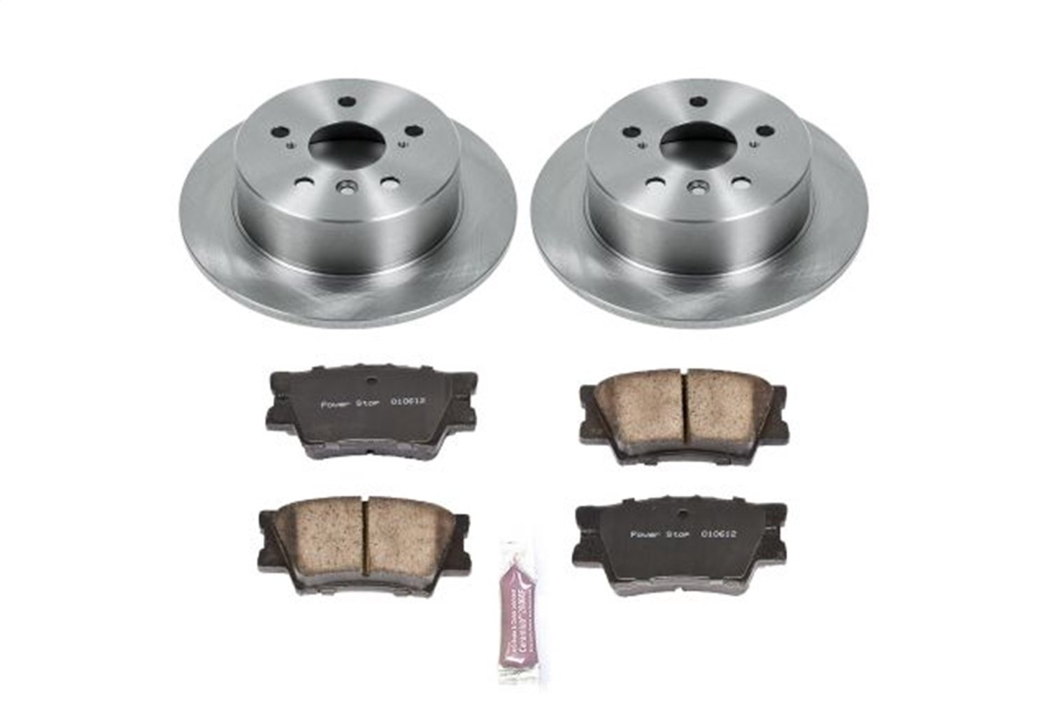 Autospecialty KOE6520 Daily Driver 1-Click OE Replacement Rear Brake Kit Power Stop