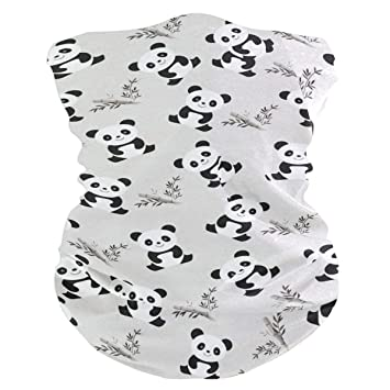 Magic Headwear Panda Outdoor Scarf Headbands Bandana Mask Neck Gaiter Head Wrap Mask Sweatband