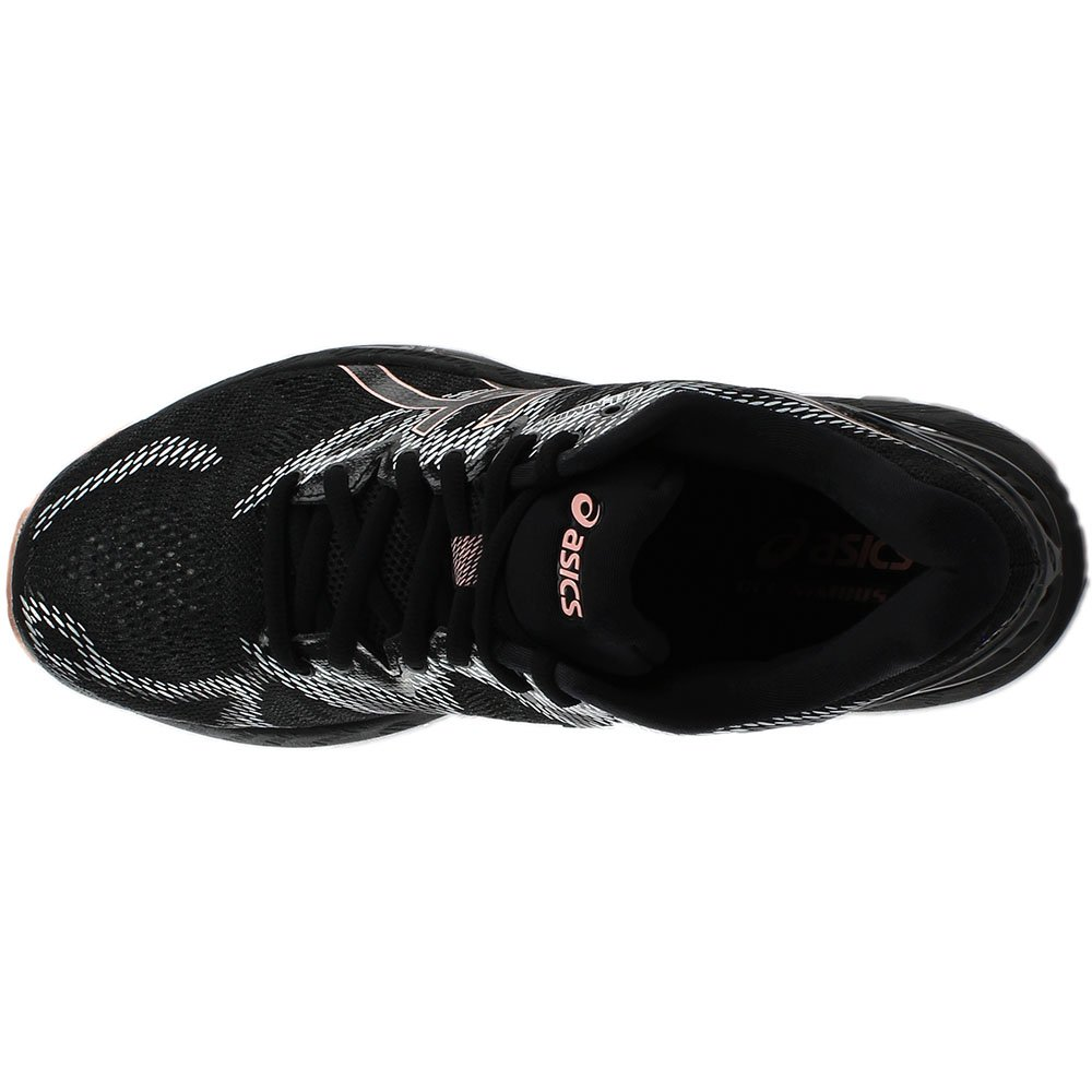 ASICS Women's Gel-Nimbus 20 Running Shoe B078BQ5M5H 10 B(M) US|Black/Frosted Rose