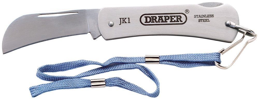 Draper 67068 Slimline Pruning Knife Hand Tools JACK Knives & Blades Other Knives & Blades