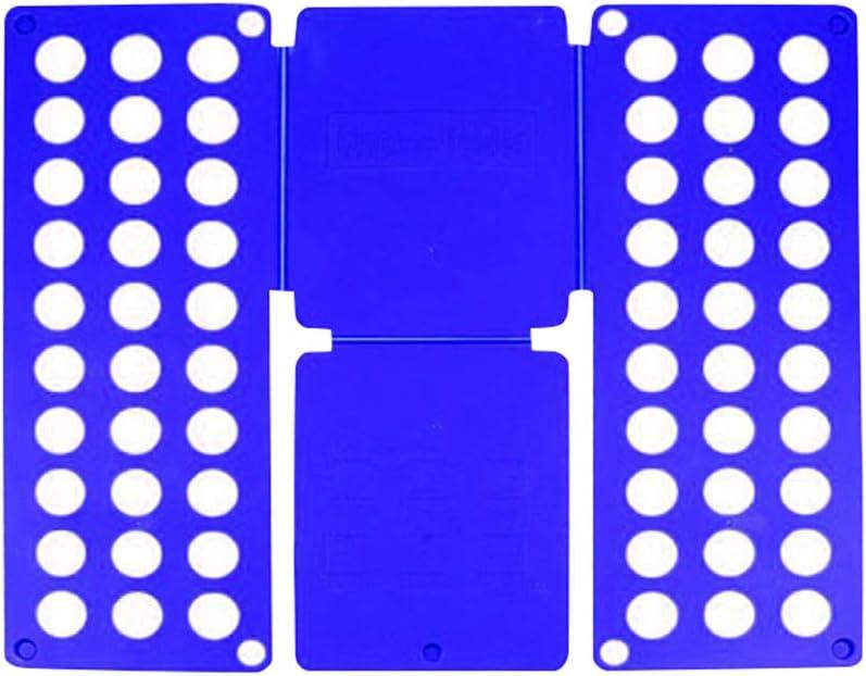 ERTYUI Faltbrett f/ür T-Shirts 40 x 16 x 1 cm blau Kleidung