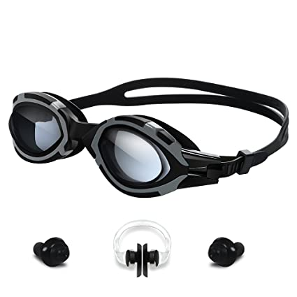 090a5dbef17f Swimming Goggles-YOKIRIN Leakproof Waterproof No Leaking Anti Fog UV  Protection Triathlon Adjustable Swim Goggles