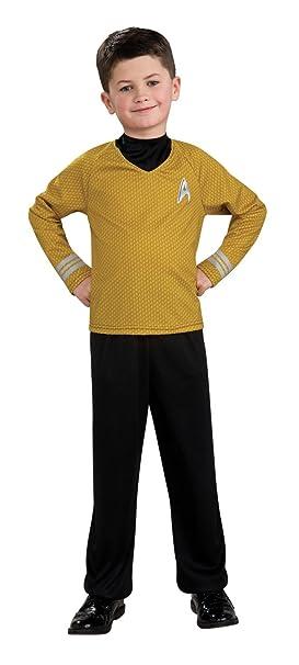 Rubies 883591L - Camiseta Star Trek para niño (9 años): Amazon.es ...