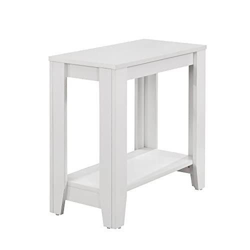 Monarch Accent Table, White