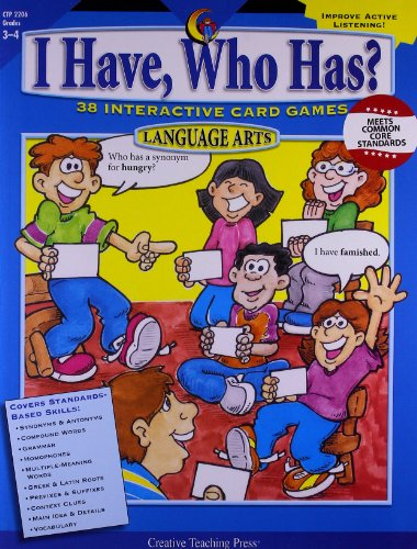 (I Have, Who Has? Gr. 3-4 Language Arts)